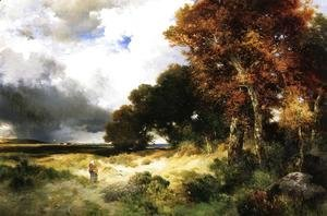 Thomas Moran - Autumn, Peconic Bay, Long Island