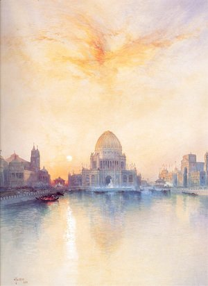 Thomas Moran - Chicago World's Fair