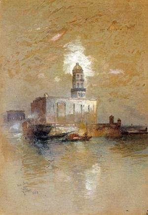 Thomas Moran - Castle of San Juan D'Ulloa, Vera Cruz, Mexico