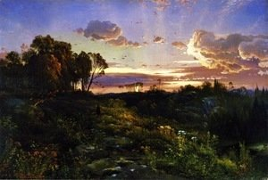 Thomas Moran - Dusk Wings