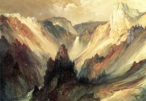 Thomas Moran - The Grand Canyon of the Yellowstone I