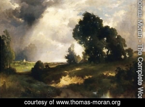 Thomas Moran - The Passing Shower