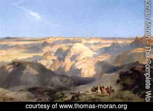 Thomas Moran - Badlands of the Dakota