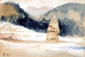 Thomas Moran - Liberty Cap and Clematis Gulch