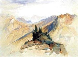 Thomas Moran - The Yellowstone Range, near Fort Ellis