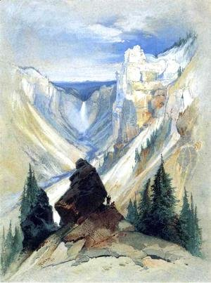 Thomas Moran - The Grand Canyon of the Yellowstone II