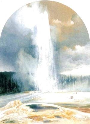 Thomas Moran - Old Faithful