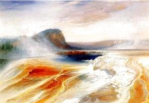 Thomas Moran - Lower Geyser Basin