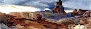 Thomas Moran - Shin-Au-Av-Tu-Weap (God Land), Canyon of the Colorado, Utah