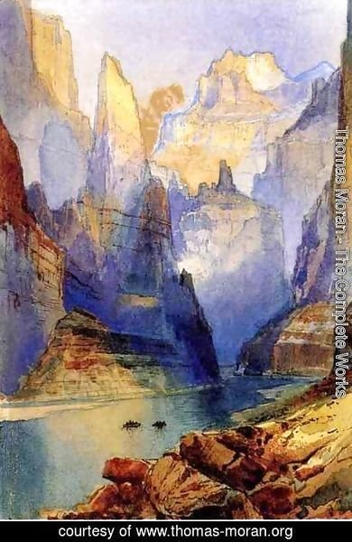 Thomas Moran - Zion Valley
