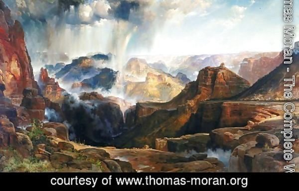 Thomas Moran - Chasm of the Colorado