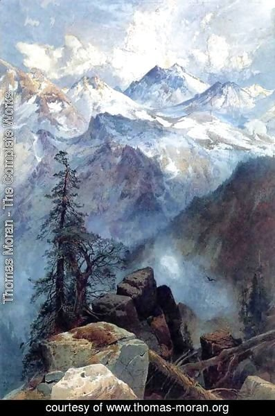 Thomas Moran - Summit of the Sierras