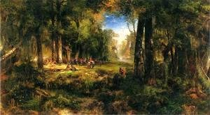Thomas Moran - Ponce de Leon in Florida