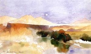 Thomas Moran - Portneuf Canyon, Idaho