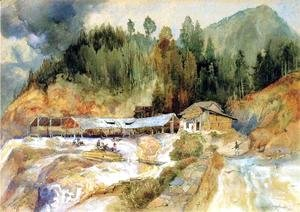 Thomas Moran - Trojes Mine