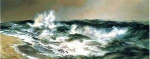 Thomas Moran - The Much Resounding Sea