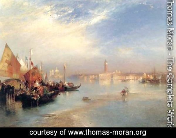 Thomas Moran - The Fishermans Wedding Party
