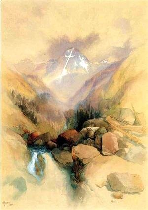 Thomas Moran - Mountain of the Holy Cross II