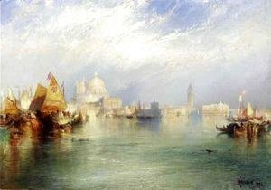 Thomas Moran - The Splendor of Venice II