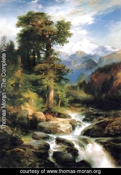 Thomas Moran - Solitude
