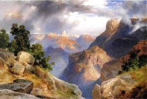 Thomas Moran - Grand Canyon V