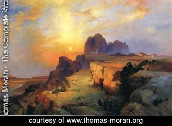 Thomas Moran - Hopi Museum, Arizona