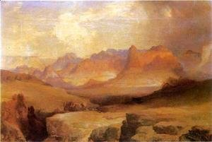 Thomas Moran - View of Yosemite