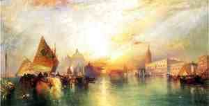 Thomas Moran - The Gate of Venice