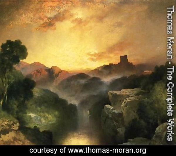 Thomas Moran - Land of Dreams