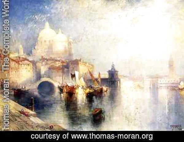 Thomas Moran - Venice, Italy (not named)