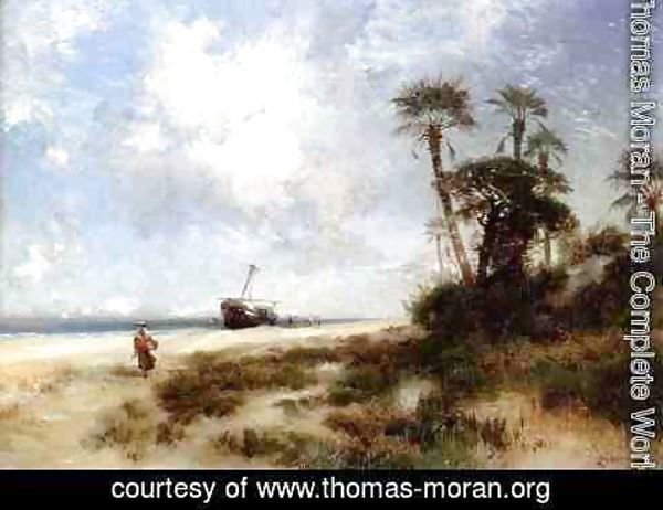 Thomas Moran - Fort George Island I