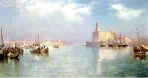 Thomas Moran - Vera Cruz Harbor