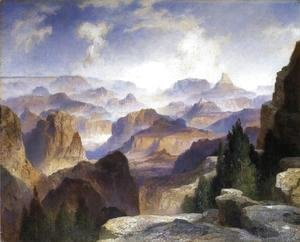Thomas Moran - Grand Canyon VI