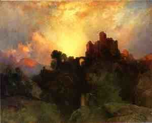 Thomas Moran - Caledonia, Stern and Wild