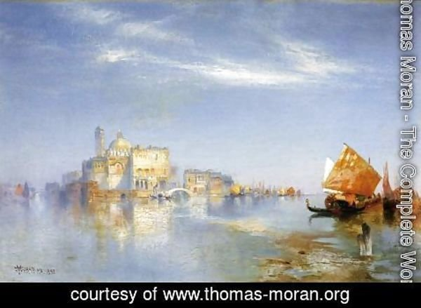 Thomas Moran - View of Venice II