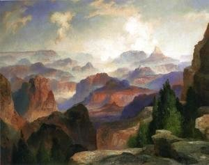 Thomas Moran - The Grand Canyon I