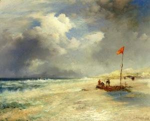 Thomas Moran - East Hampton Beach I