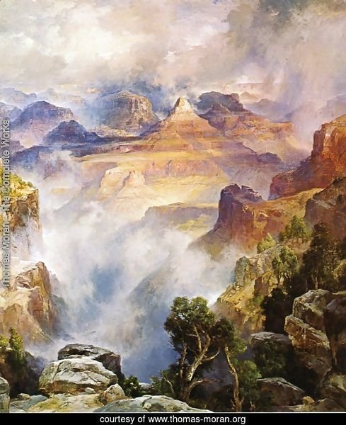 Canyon Mists: Zoroaster Peak [Grand Canyon, Arizona]