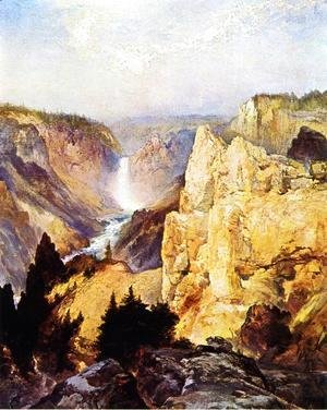 Thomas Moran - Grand Canyon of the Yellowstone II