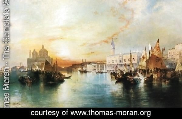 Thomas Moran - Venice from the Lagoon