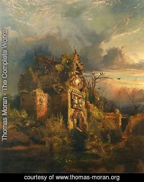 Thomas Moran - Haunted House II