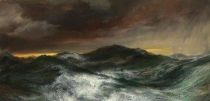 Thomas Moran - Norther in the Gulf of Mexico