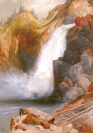Thomas Moran - Upper Falls, Yellowstone