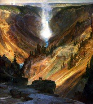 Thomas Moran - The Grand Canyon of the Yellowstone 2