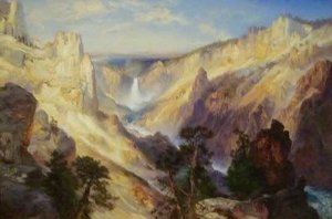 Thomas Moran - Grand Canyon of the Yellowstone Wyoming