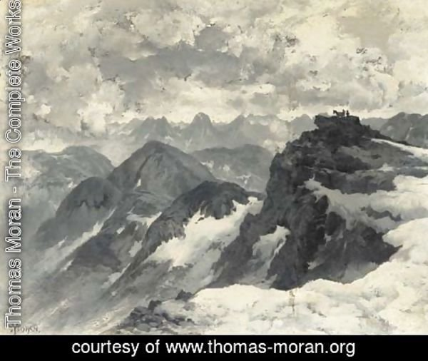 Thomas Moran - In the Rockies