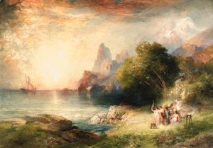 Thomas Moran - Ulysses and the Sirens 2