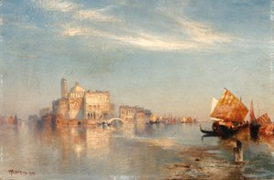 Thomas Moran - View of Venice 2