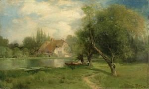 Thomas Moran - Near East Hampton, Long Island