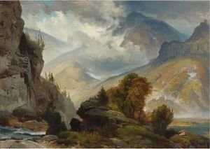 Thomas Moran - The White Mountains